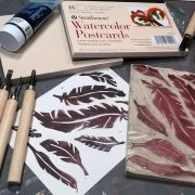 Stamp Carving Basics // Block Printing How-To // DIY Rubber Stamps