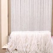 Weaving for Beginners Part 3: Start Weaving and Add Fringe with Annabel Wrigley | Creativebug
