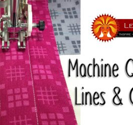 Easy Machine Quilting Tutorial: Lines & Circles for Beginners with Leah Day