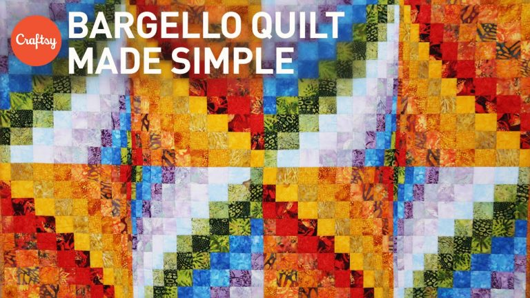 Bargello quilt project made simple | Quilting Tutorial with Angela Walters