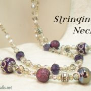 Beading 101 - Bead Stringing Basics Necklace Tutorial