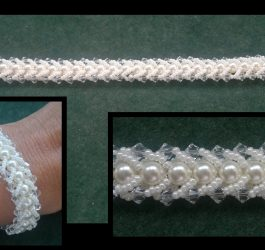Beading4perfectionists : Flat spiral beading tutorial for begining beaders