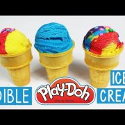 How to Make Edible Play-Dough Ice Cream | Easy Kids Crafts