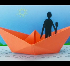 Fun Activities for Kids : How to Make a Paper Boat | Kids Crafts