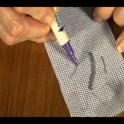 How To Draw A Design On Needlepoint Canvas