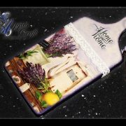 Decoupage tutorial - decorating chopping board