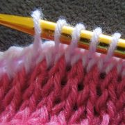 How To Crochet Tunisian Simple Stitch and Knit Stitch