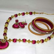 Silk Thread Jewelry Making