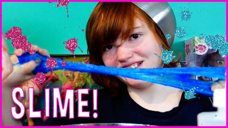 DIY CLEAR GLITTER SLIME ! How to Make Colors Borax Slime!  Kids Crafts with MommyandGracieShow