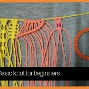 Basic macrame knots for Beginners | learn Macrame Art