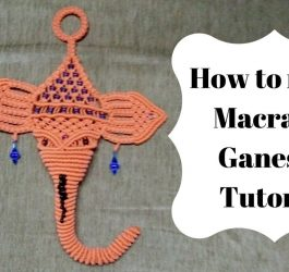 How to make macrame ganesha  | Full Video step by step | Macrame Art