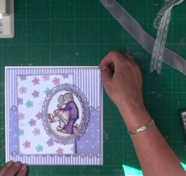 Cardmaking- Matting and Layering (card-making-magic