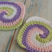 How to Crochet a Spiral Granny Square