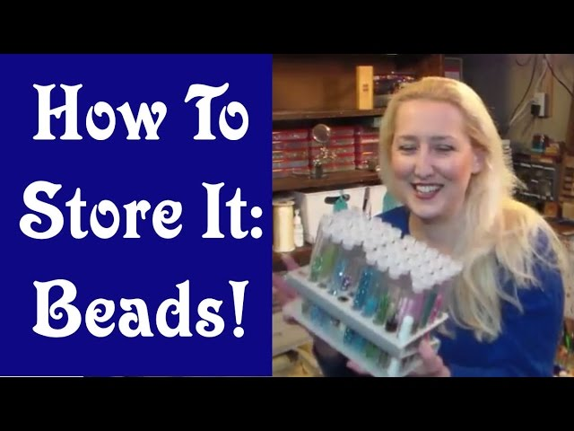 How to Store it: Beads & Jewelry Making Supplies!