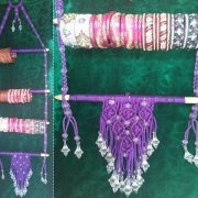 macrame bangles hanger making at home