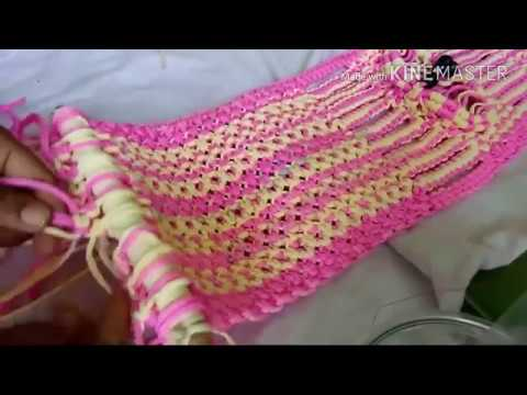 DIy how to make jhula/wall hanging with macrame