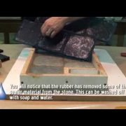 How to Make a Rubber Stamping Mat for Concrete [Cobblestone Model]