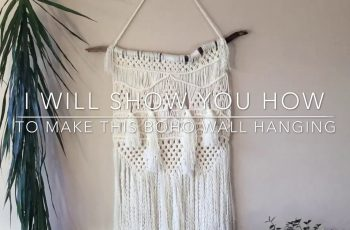 MACRAME HANGINGS DIY - Step by step tutorial