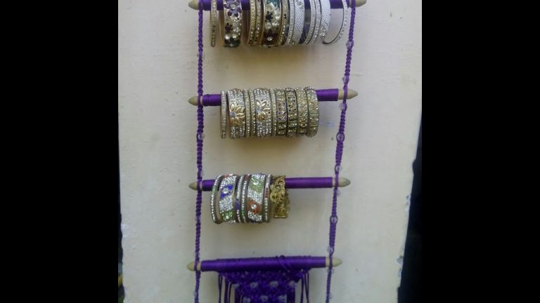 how to make Bangle macrame at home