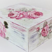 How to make a decoupage box - Easy Tutorial - DIY