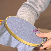 How to Needlepoint With Floss Yarn : Craft Time!