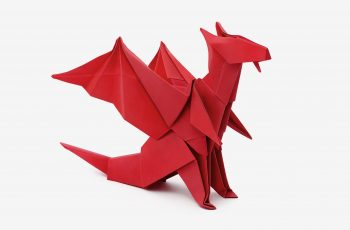 Origami Dragon (Jo Nakashima) -Dragon #6
