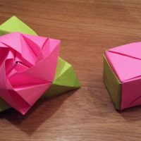 How To Make an Origami Magic Rose Cube (Valerie Vann)