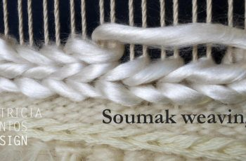 Soumak weaving - Weaving lessons for beginners
