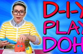 Play Doh - DIY Recipe! Crafts for Kids w/ Crafty Carol at Cool School