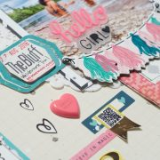 Scrapbooking Process: Dream Spot To Swim