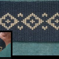 Beading4perfectionists: Stich 4: Basic ladder / square stich (looming without loom) beading tutorial