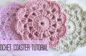 CROCHET: how to crochet a coaster | Bella Coco