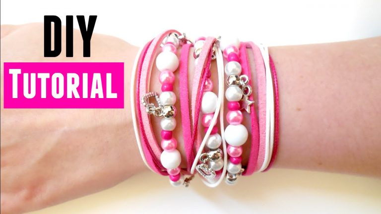 How to Make a Wrap Bracelet - DIY Jewelry making