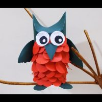 Crafts Ideas for Kids : Learn Owl Crafts for Kids | Preschool Fun crafts | Kids Project Ideas