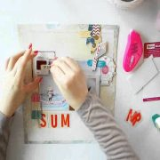 Scrapbooking Tutorial ☆ easy-peasy layout