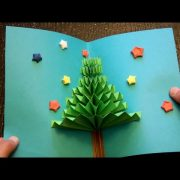 DIY 3D Christmas Pop Up Card | Very Easy | How to make | TCraft