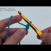 Learn How to Crochet RIGHT HAND Easy Basics for Absolute Beginner Beginners Chain Single Crochet SC