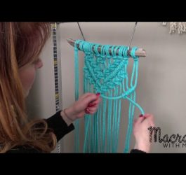 DIY Macrame Tutorial: Beginner Wall Hanging Diamond with Crafty Ginger