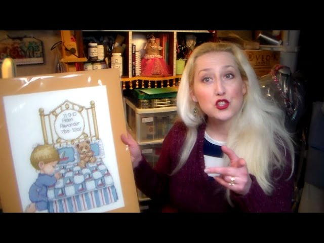 Cross Stitch and Needlepoint: How To Stretch It!