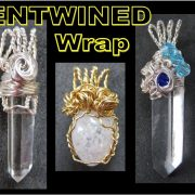 EASY Jewelry Making Tutorial - Entwined Wrap Pendant | Liz Kreate