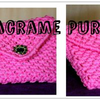 Full Making of Handmade Macrame Ladies Purse