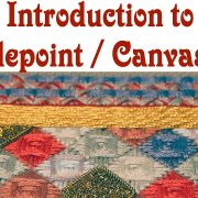 Hand Embroidery - Introduction to Needlepoint / canvaswork