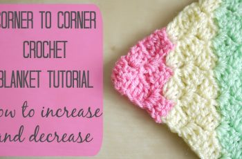 CROCHET: How to crochet the corner to corner 'C2C' blanket | Bella Coco