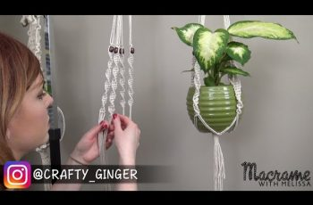 #3 of 4: Macrame Plant Hanger for Beginners DIY Tutorial