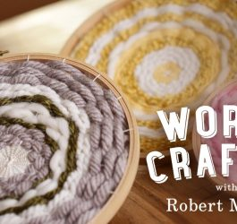 DIY Embroidery Hoop Weaving | World Crafted
