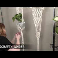 #4 of 4: Macrame Plant Hanger for Beginners DIY Tutorial